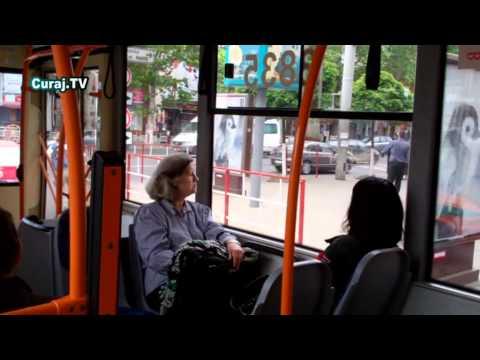 Reclamă enervantă în transportul public