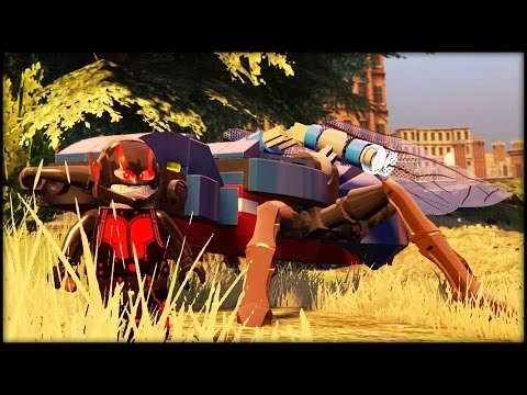 LEGO MARVEL AVENGERS - ANT- MAN DLC FUN RUN! All Characters!