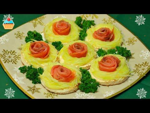 Ну, оОчень вкусная - Закуска - Бутерброды из Красной рыбы!