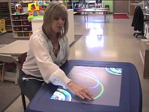 SMART Table in Preschool Classroom at Immanuel