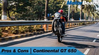 Royal Enfield Continental GT 650 - Pros & Cons | MotorBeam