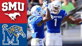 #15 SMU vs #24 Memphis Highlights | NCAAF Week 10 | College Football Highlights