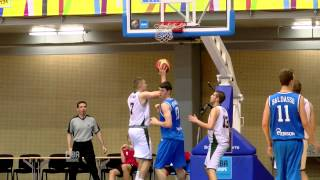 U18M 2013 Bulgaria - Italy Highlights