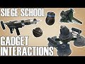Gadget Interactions and Inconsistencies - Siege School (Rainbow Six Siege)