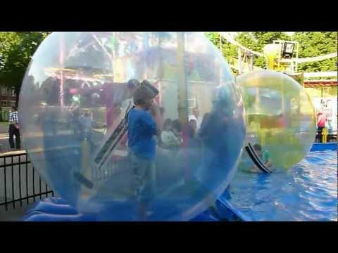 Kermis in Blerick - Walking Waterballs