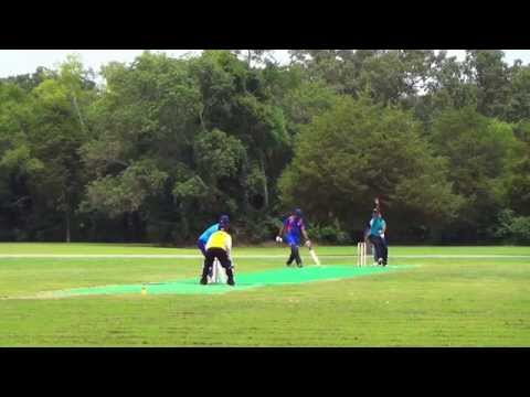 Knoxville Cricket Club vs Kachros at Chattanooga Premier League 2014 - Part 1