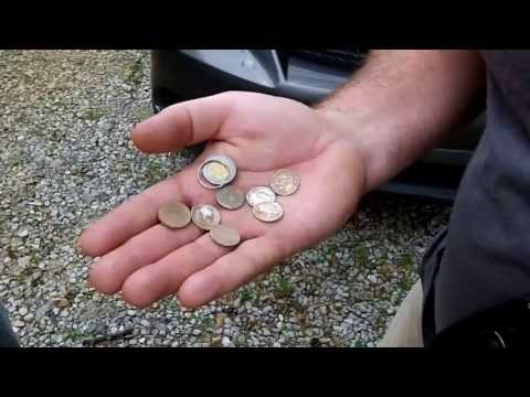 Metal Detecting #39....Matt KICKED BUTT today! 6 Silvers!!