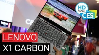 Lenovo Thinkpad X1 CARBON e YOGA | CES 2019
