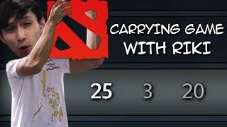CARRYING THE GAME WITH RIKI (SingSing Dota 2 Highlights #1151)