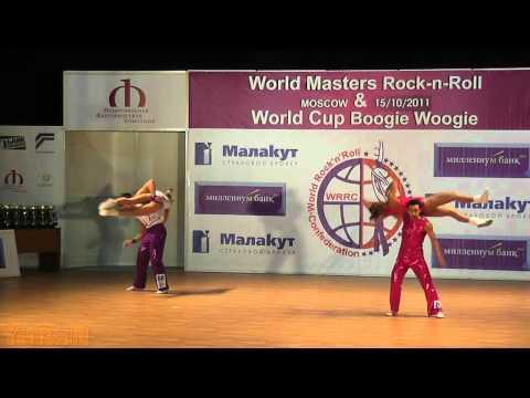 Murashov - Nikeenkova(RUS) & Mandorino - Mandorino (SUI) - World Masters Moskau 2011