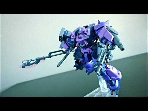 HG GPB-06F Super Custom Zaku F2000 review