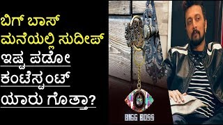 Sudeep Favourite contestant in Big Boss |  Big Boss Kannada Season 5 Contestants Photos | Filmi News