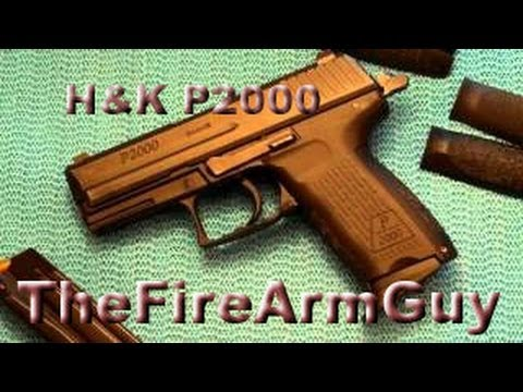 HK P2000 9mm Shooting & Review - TheFireArmGuy