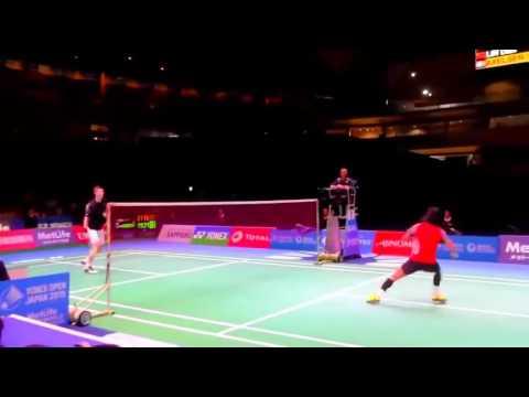 Legend vs Future legend - Lin Dan vs Axelsen in HD