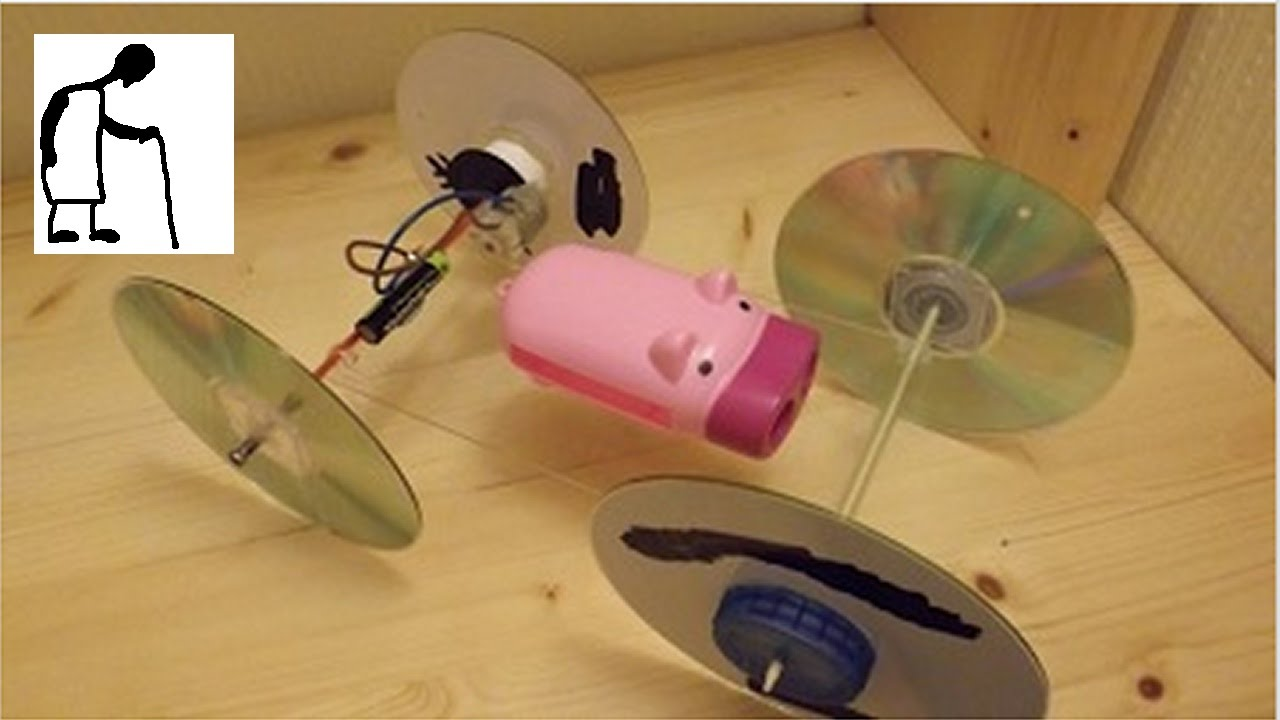 Bargain store project 27 dynamo pig torch to electric car for Electric motor science fair project