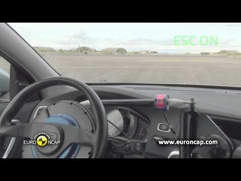 Euro NCAP | Volvo V60 Plug-In Hybrid | 2012 | Электронный контроль устойчивости