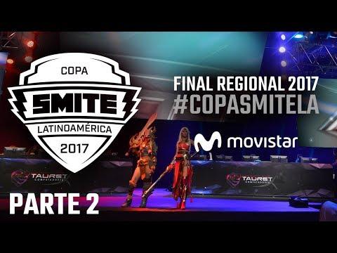 Final Regional Smite 2017 Movistar