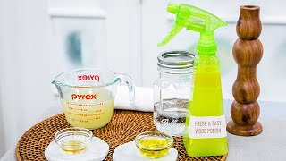 Homemade Cleaning Solutions - Home & Family