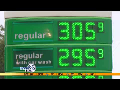 Gas prices lower across the country