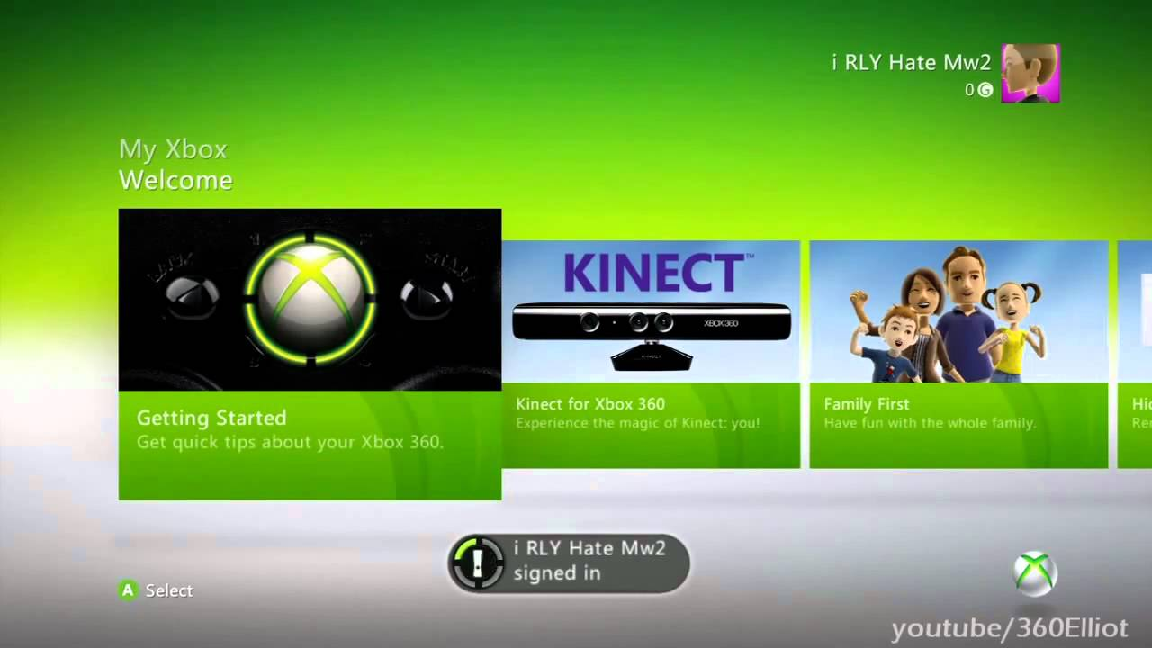 how to update xbox 360 manually