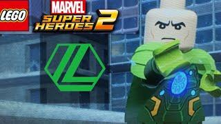 How to make Lex Luthor(Kryptonite battle suit) in LEGO Marvel Superheroes 2