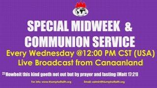 Midweek Communion Service, July 18, 2018