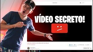 MOSTREI MEU VÍDEO SECRETO *primeiro vídeo do canal*