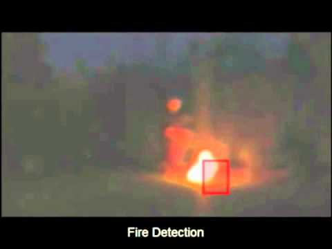 Video Analytics Sample (9) VCA - Fire Detection