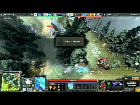 Titan vs New Element Game 2 - SinaCup China Dota 2 1st Qualifier - Capitalist & Basskip