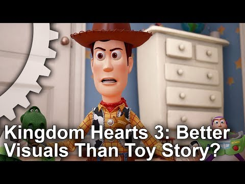 Games vs CG! Kingdom Hearts 3 vs Toy Story Graphics Comparison