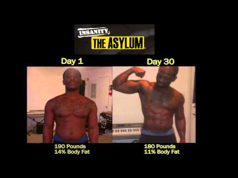 P90X Insanity Asylum Results - Richard drops 50 lbs! Gets Ripped!!
