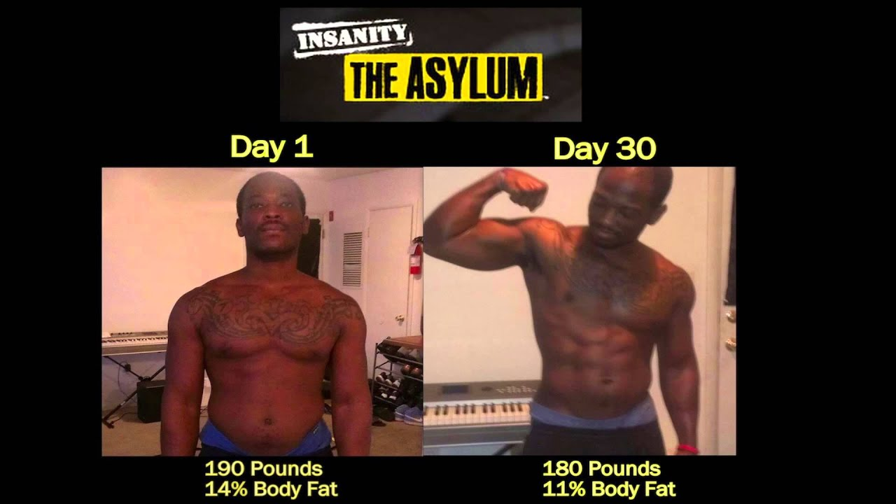 P90X Insanity Asylum Results - Richard drops 50 lbs! Gets ...