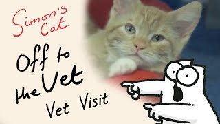 Simon's Cat in 'Off to the Vet' - Vet Visit