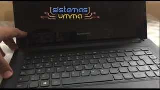 Desactivar UEFI en laptop Lenovo G40