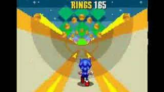 Sonic The Hedgehog 2  - All 7 Chaos Emeralds on Emerald Hill