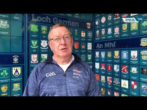 Chairperson of the GAA's Gender Diversity Working Group, Gearóid Ó Maoilmhichíl, talks to GAA.ie