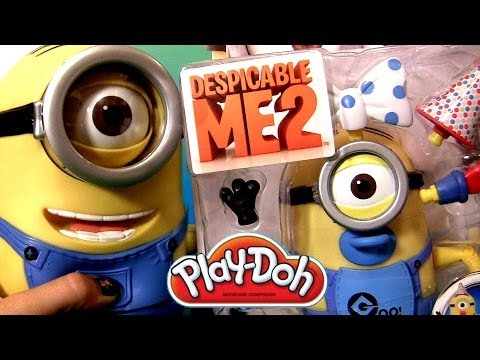Minion Carl Stuart Play Doh Minion Baby Carl