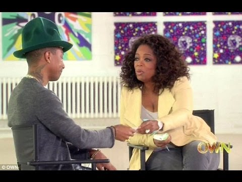 Happy Videos brings Pharrell Williams to tears! Interview on Oprah Prime