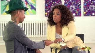 Pharrell Video - Happy Videos brings Pharrell Williams to tears! Interview on Oprah Prime