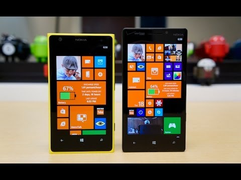 Lumia Icon vs Lumia 1020 - YouTube