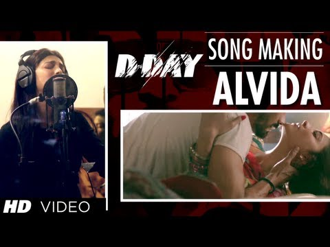 D Day Alvida Song Making | Rishi Kapoor Irrfan Khan Arjun Rampal...