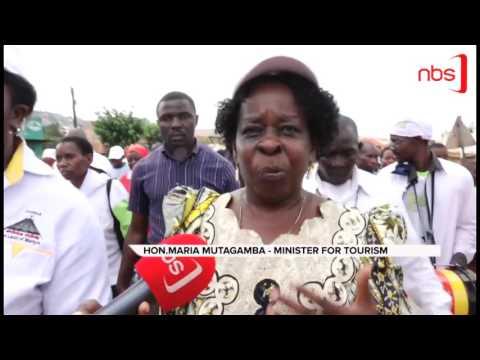 Hundreds in Uganda Martyrs' Walk