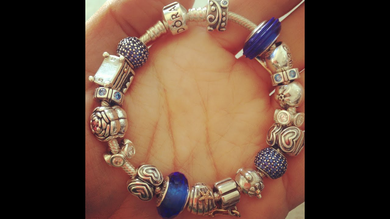 Pandora Princess Themed Bracelet Youtube