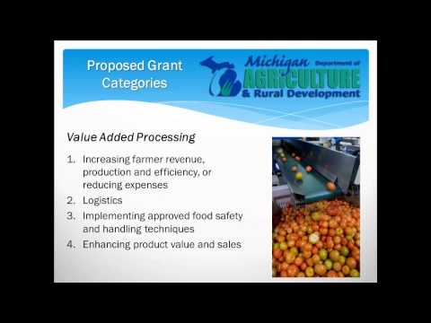Strategic Growth Initiative Grant Program to Boost Michigan's Growing Food and Agriculture Industry