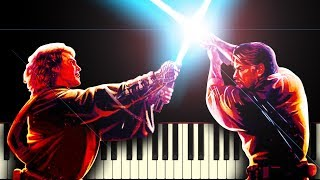 STAR WARS: ANAKIN vs OBI-WAN - Piano Tutorial