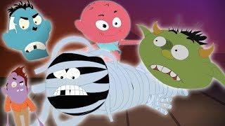 Năm con quái vật nhỏ | Five Little Monsters | Kids Tv Channel Vietnam | nhac thieu nhi hay nhất