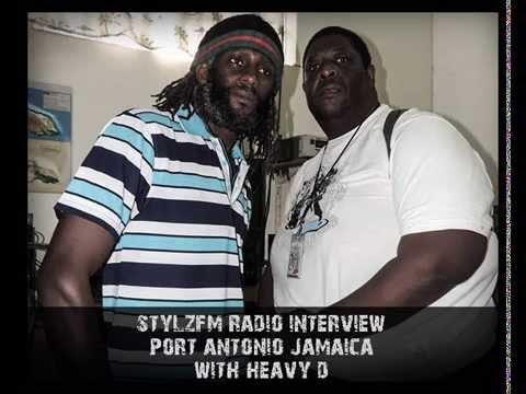 Stylzfm Jamaica, radio interview. HeavyD feat. Nimroy Hendricks