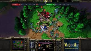 Lucifer(UD) vs Zhouxixi(NE) - WarCraft 3 Frozen Throne - RN3568