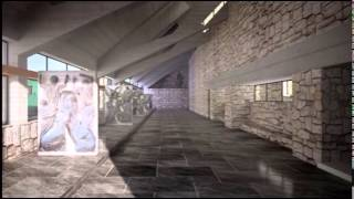 Giovanni Michelucci - The HIGHWAY's Church - Chiesa dell'Autostrada - 3D Max Animation Video