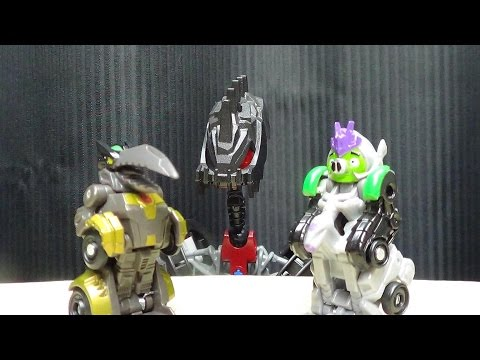 Mascot Reviews ANGRY BIRD TRANSFORMERS